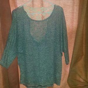 Signature Lace back blouse
